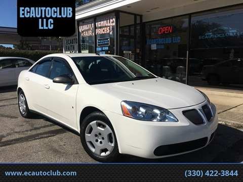 2008 Pontiac G6 for sale in Kent, OH