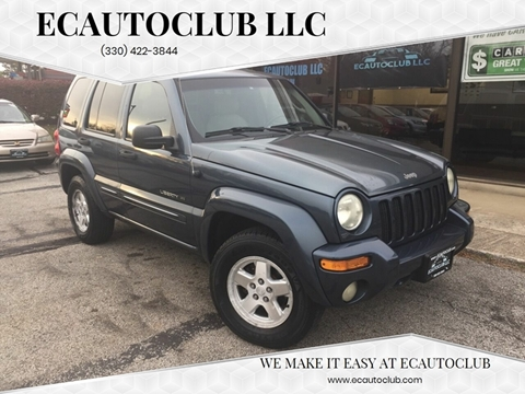 2002 Jeep Liberty for sale in Kent, OH