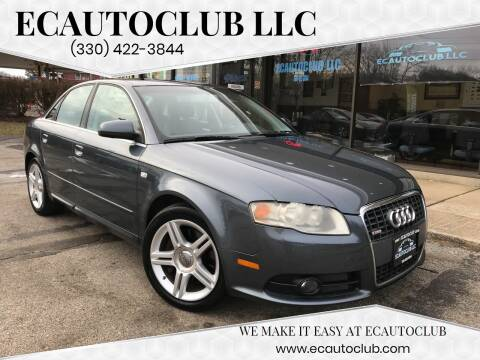 2008 Audi A4 2.0T for sale at ECAUTOCLUB LLC in Kent OH