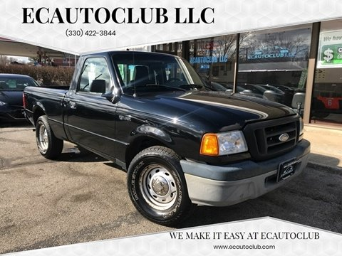 2005 Ford Ranger XL for sale at ECAUTOCLUB LLC in Kent OH