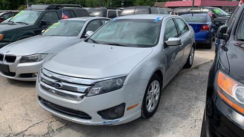 2012 Ford Fusion for sale in Winder, GA
