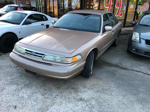 1996 Ford Crown Victoria for sale in Winder, GA