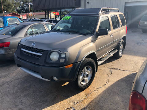 2003 Nissan Xterra XE-V6 for sale at Credit Now Used Cars in Winder GA
