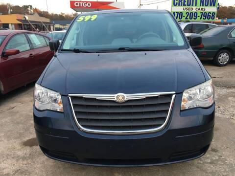 2008 Chrysler Town and Country LX for sale at Credit Now Used Cars in Winder GA