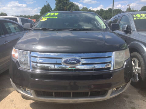 2007 Ford Edge SEL Plus for sale at Credit Now Used Cars in Winder GA