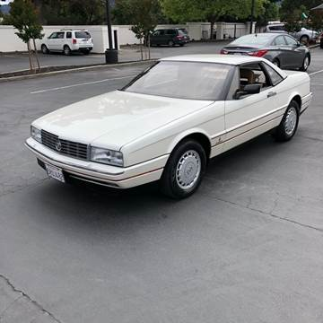 1987 Cadillac Allante for sale in Gilroy, CA