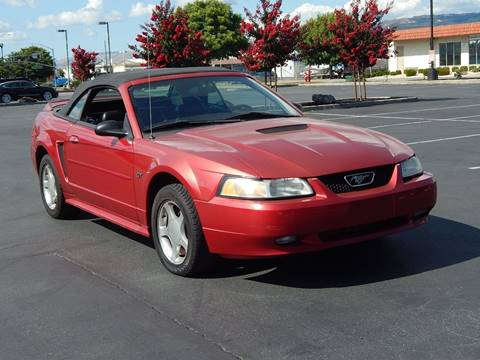 2000 Ford Mustang for sale at Gilroy Motorsports in Gilroy CA