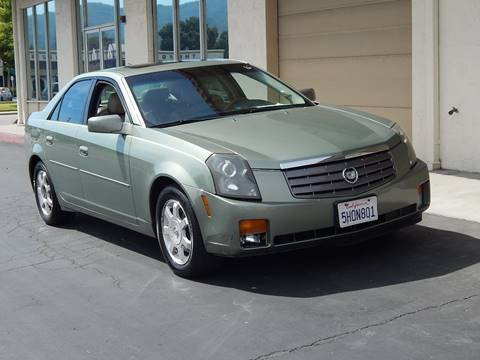2004 Cadillac CTS for sale at Gilroy Motorsports in Gilroy CA