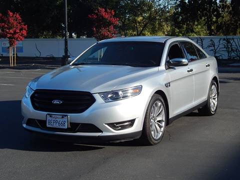 2017 Ford Taurus for sale at Gilroy Motorsports in Gilroy CA