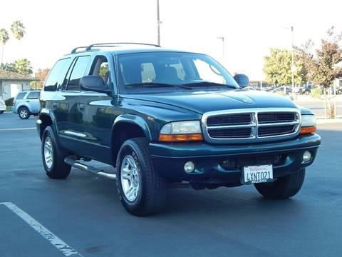 2002 Dodge Durango for sale at Gilroy Motorsports in Gilroy CA