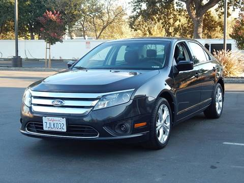 2012 Ford Fusion for sale at Gilroy Motorsports in Gilroy CA