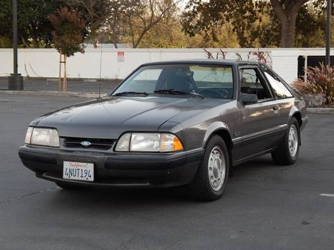 1990 Ford Mustang for sale at Gilroy Motorsports in Gilroy CA
