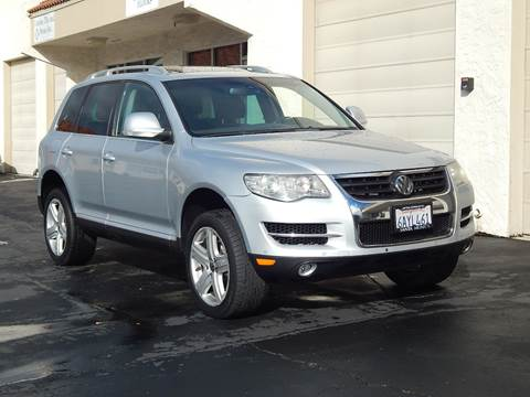 2008 Volkswagen Touareg 2 for sale at Gilroy Motorsports in Gilroy CA