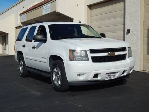 2008 Chevrolet Tahoe for sale at Gilroy Motorsports in Gilroy CA