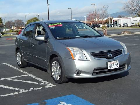 2010 Nissan Sentra for sale at Gilroy Motorsports in Gilroy CA