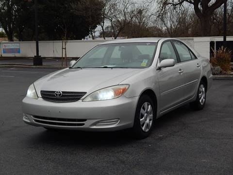 2004 Toyota Camry for sale at Gilroy Motorsports in Gilroy CA