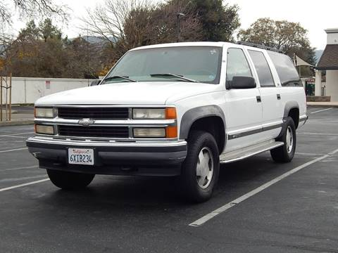 1997 Chevrolet Suburban for sale at Gilroy Motorsports in Gilroy CA