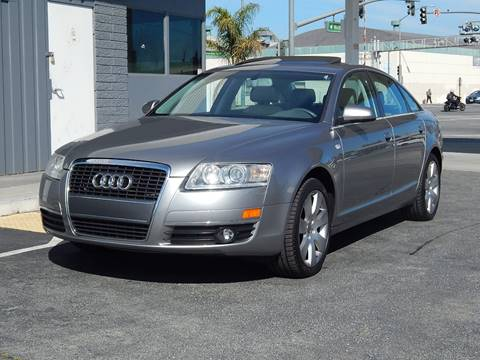 2006 Audi A6 for sale at Gilroy Motorsports in Gilroy CA
