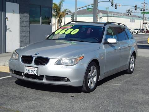 2006 BMW 5 Series for sale at Gilroy Motorsports in Gilroy CA