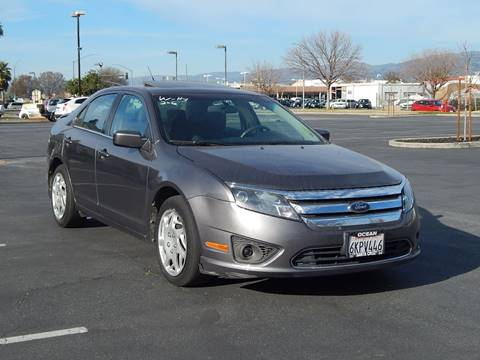 2010 Ford Fusion for sale at Gilroy Motorsports in Gilroy CA