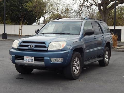 2004 Toyota 4Runner for sale at Gilroy Motorsports in Gilroy CA