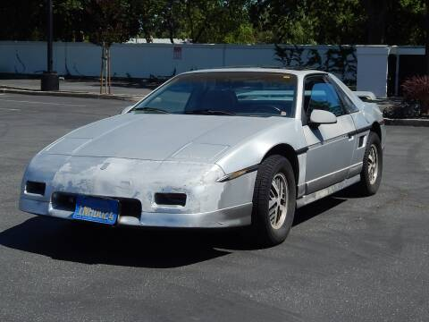 1985 Pontiac Fiero for sale at Gilroy Motorsports in Gilroy CA