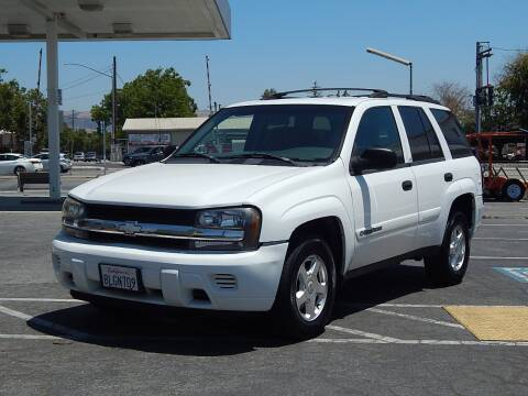 2002 Chevrolet TrailBlazer for sale at Gilroy Motorsports in Gilroy CA
