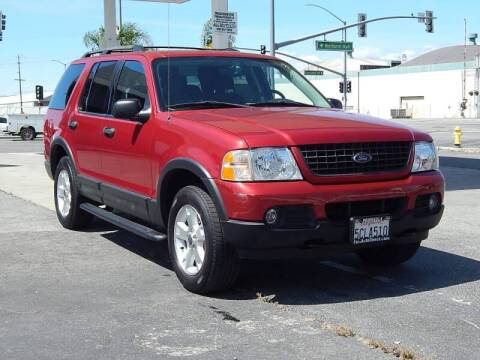 2003 Ford Explorer for sale at Gilroy Motorsports in Gilroy CA
