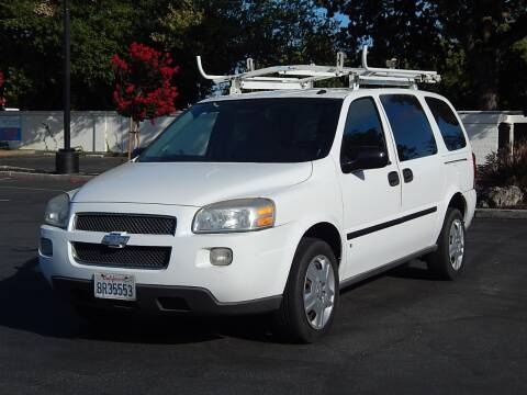 2008 Chevrolet Uplander for sale at Gilroy Motorsports in Gilroy CA