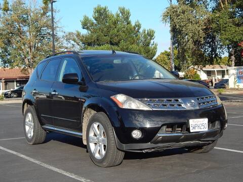 2006 Nissan Murano for sale at Gilroy Motorsports in Gilroy CA