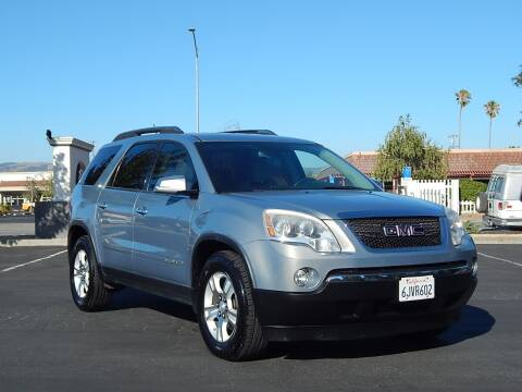2007 GMC Acadia for sale at Gilroy Motorsports in Gilroy CA