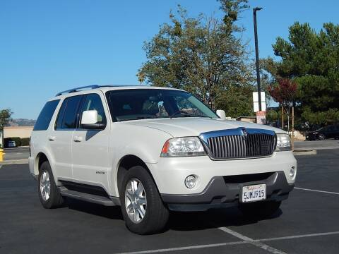 2004 Lincoln Aviator for sale at Gilroy Motorsports in Gilroy CA