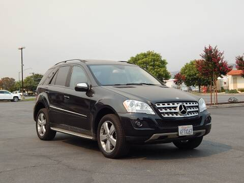 2009 Mercedes-Benz M-Class for sale at Gilroy Motorsports in Gilroy CA