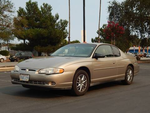 2001 Chevrolet Monte Carlo for sale at Gilroy Motorsports in Gilroy CA