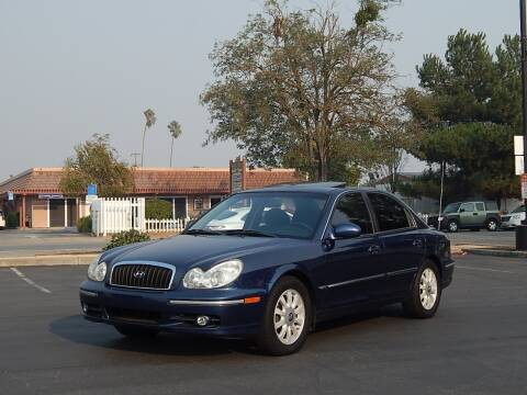 2002 Hyundai Sonata for sale at Gilroy Motorsports in Gilroy CA