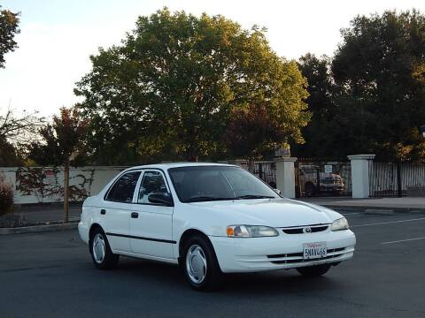 2000 Toyota Corolla for sale at Gilroy Motorsports in Gilroy CA