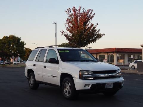 2003 Chevrolet TrailBlazer for sale at Gilroy Motorsports in Gilroy CA