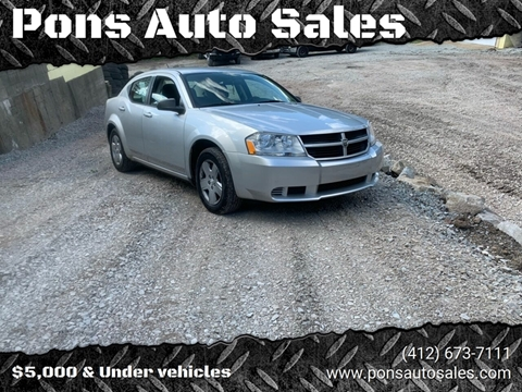 2010 Dodge Avenger for sale in Mckeesport, PA
