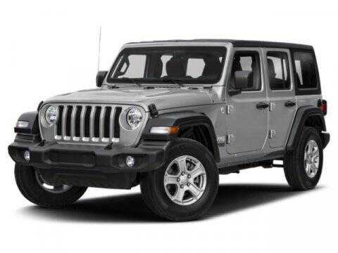 2020 Jeep Wrangler Unlimited for sale at NICKS AUTO SALES --- POWERED BY GENE'S CHRYSLER in Fairbanks AK