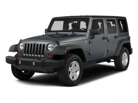 2015 Jeep Wrangler Unlimited for sale at NICKS AUTO SALES --- POWERED BY GENE'S CHRYSLER in Fairbanks AK
