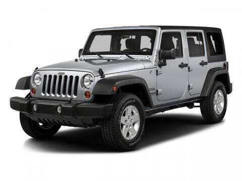 2016 Jeep Wrangler Unlimited for sale at NICKS AUTO SALES --- POWERED BY GENE'S CHRYSLER in Fairbanks AK