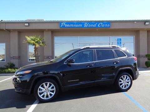 2014 Jeep Cherokee for sale in Victorville, CA