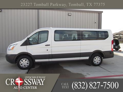 2017 Ford Transit Passenger for sale in Tomball, TX