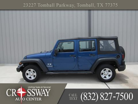 2009 Jeep Wrangler Unlimited for sale in Tomball, TX