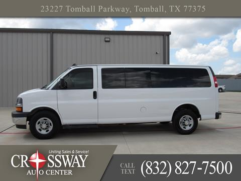 2017 Chevrolet Express Passenger For Sale In Tomball TX