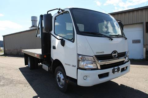 2016 Hino 155 for sale at Jukonski Truck Sales in Middletown CT