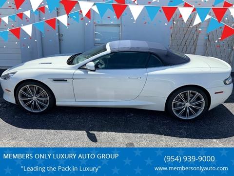 2012 Aston Martin Virage for sale in Oakland Park, FL