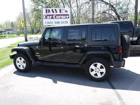 2012 Jeep Wrangler Unlimited for sale in Hartford City, IN