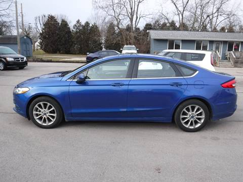 2017 Ford Fusion for sale at Dave's Car Corner in Hartford City IN