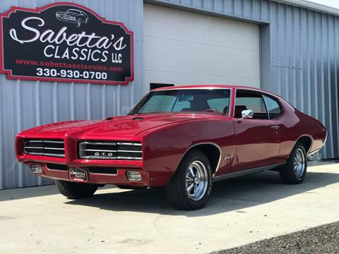 1969 Pontiac GTO for sale in Orville, OH